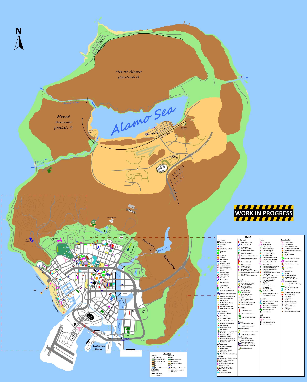 Grand theft auto v fan made map representations sciox Gallery